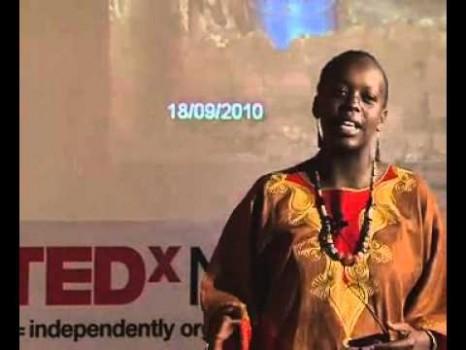 TEDxNairobi 2010 - Njeri Wangari - Performance
